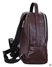 Жіночий рюкзак з позов-шкіри Case 643 замш бордо, фото 3