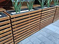 Кашпо вазон деревянный для цветов для улицы и дома