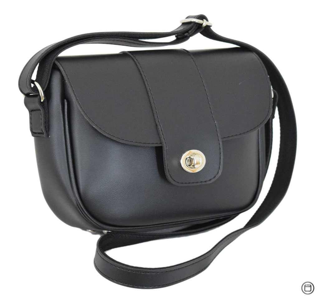 Женская сумка из иск-кожи Case 665 черная