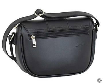 Женская сумка из иск-кожи Case 665 черная, фото 2