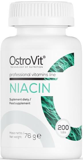 Поддержка метаболизма OstroVit - Niacin (200 таблеток)