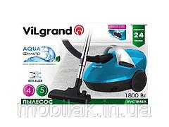 Пилосос (1800 Вт, аквафільтр) VVC1845A-blue ТМ VILGRAND