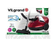 Пилосос (1800 Вт, аквафільтр) VVC1845A-red ТМ VILGRAND