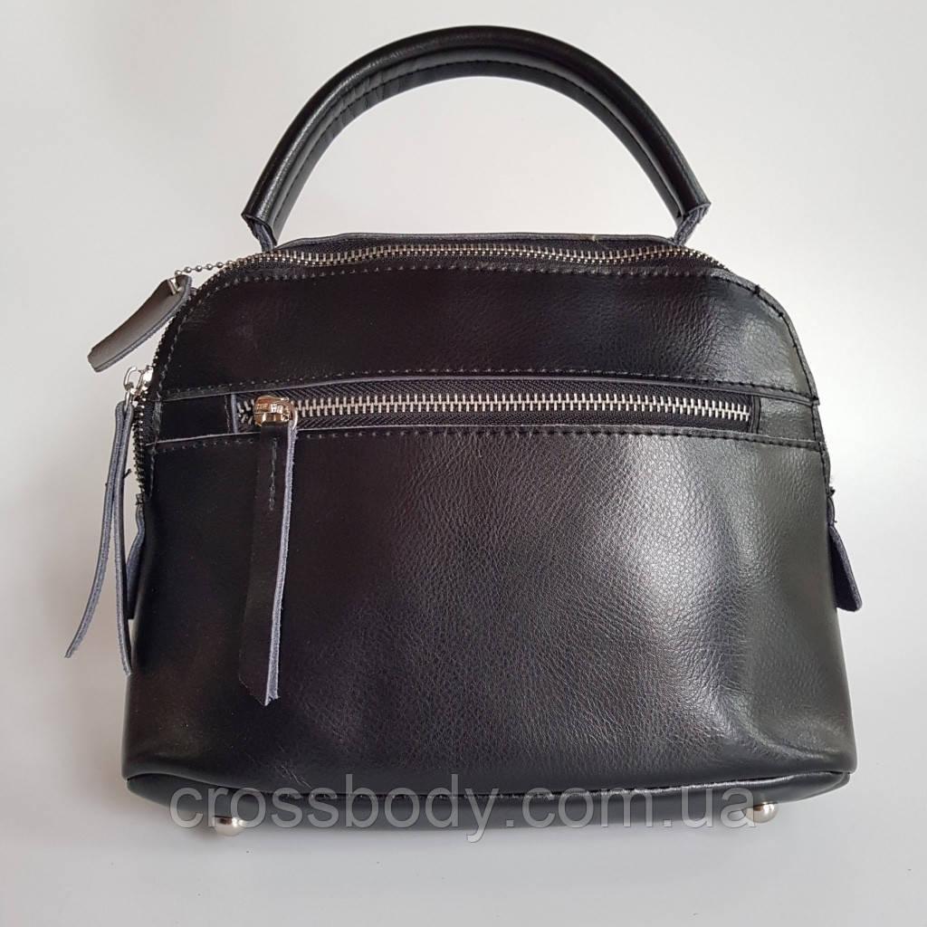 Женская сумка через плече кожа