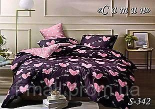 Комплект постельного белья Тет-А-Тет ( Украина ) Сатин евро (S-342)