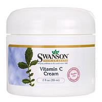 Крем з вітаміном с, Swanson, Vitamin C Cream, 59 мл