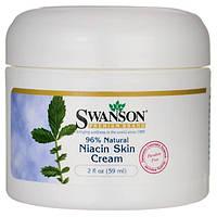 Крем для шкіри з ніацином, Swanson, Niacin Skin Cream, 59 мл