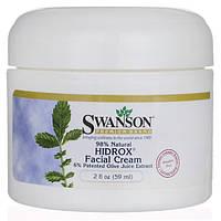 Зволожуючий крем для обличчя з маслом кокоса, жожоба і екстрактом оливкових листя, Swanson, Facial Cream, 59