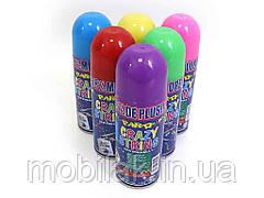 Аерозоль-серпантин кольоровий в балоні Crazy DSCN0764 арт.741753 ТМ КИТАЙ