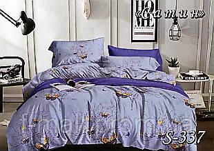 Комплект постельного белья Тет-А-Тет ( Украина ) Сатин евро (S-337)