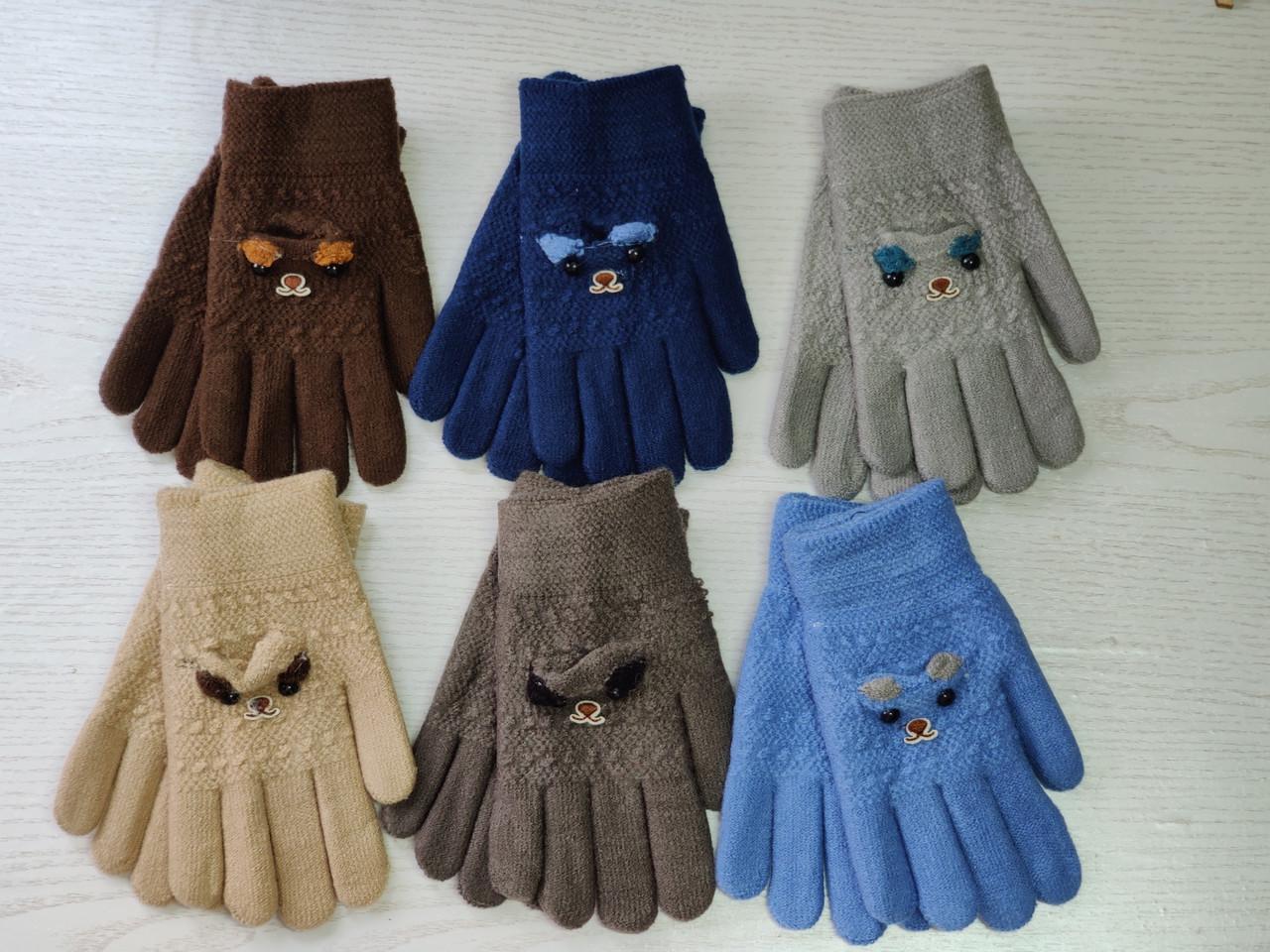 Перчатки для мальчика Возраст 4-8 лет