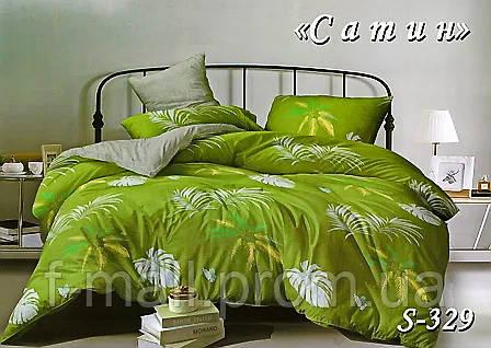 Комплект постельного белья Тет-А-Тет ( Украина ) Сатин евро (S-329)