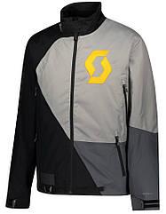 Куртка зимняя SCOTT RCX-I DRYO blakc/grey для езды на снегоходе, квадроцикле