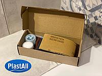 Plastall Standart - ремкомплект для ремонта сколов на акриловой ванне, душевой кабине, поддоне, smil