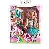 Детская интерактивная кукла 33см, 2 вида.
