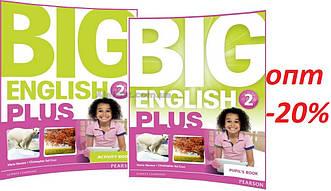 Английский язык / Big English Plus/ Pupil's+Activity Book. Учебник+Тетрадь (комплект), 2/ Pearson