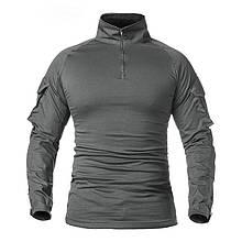 Тактическая рубашка ESDY A655 Gray L мужская камуфляж с длинным рукавом
