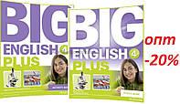 Английский язык / Big English Plus / Pupil's+Activity Book. Учебник+Тетрадь (комплект), 4 / Pearson