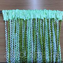 Нитяные шторы спираль в детскую комнату квартиру спальню, шторы радуга спираль для зала кухни спальни хола,, фото 4