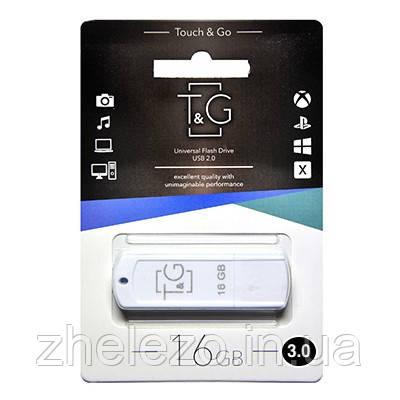 Флеш-накопитель USB3.0 16GB T&G 011 Classic Series White (TG011-16GB3WH), фото 2