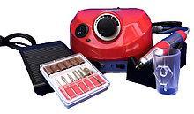 Фрезер для манікюру і педикюру DM 202 (25000 обертів , 30 вт) червоний