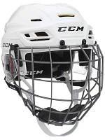 Шлем CCM TACKS 310 с решеткой, Размер L, белый, T310C-W-L
