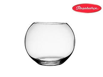 Стеклянная круглая ваза Pasabahce Flora средняя 10х12.2/8см