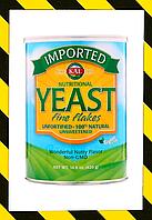 KAL, Импортные пищевые дрожжи, тонкие хлопья 420 г