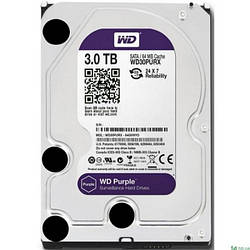 Жорсткий диск внутрішній Western Digital Purple (WD30PURZ)