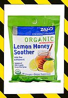 Zand, Органические леденцы на основе трав, лимон и мед с цинком леденцы, 18 шт