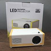 Портативный мини проектор M1 для дома смартфона лед led проэктор карманный домашний домашнего кинотеатра
