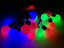 Гирлянда Шарики Нить 20 LED Лампочек Мульти от Сети, фото 4