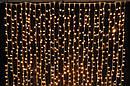 Гирлянда Штора Бахрома Новогодняя 120 LED Лампочек 3 х 0,7 м Цвета в Ассортименте top, фото 2