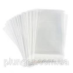 Упаковка поліетиленова прозора з широким дном 10*20 см