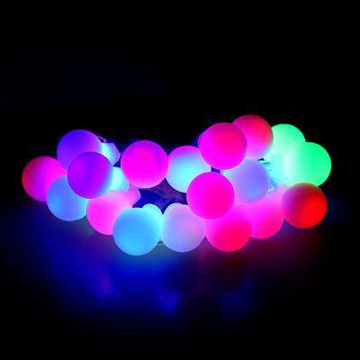 Гирлянда Шарики Нить 20 LED Лампочек Мульти от Батареек top