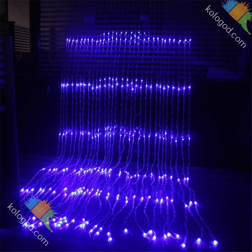 Гирлянда Водопад 480 LED 3 х 2 м Цвета в Ассортименте top
