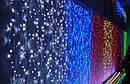 Гирлянда Водопад 480 LED 3 х 2 м Цвета в Ассортименте top, фото 3