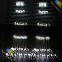 Гирлянда Водопад 480 LED 3 х 2 м Цвета в Ассортименте top, фото 4