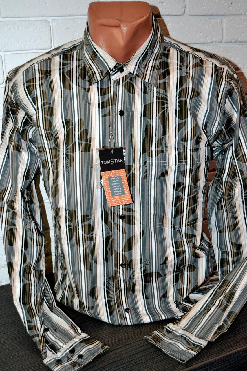 Приталенная рубашка TOM STAR (M, L, XL, XXL)