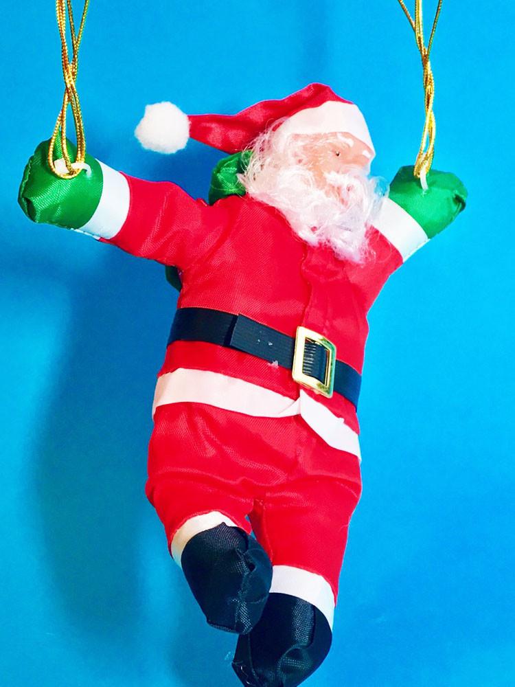 Дед Мороз Санта Клаус на Парашюте Подвесной Атмосфера Нового Года top