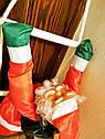 Дед Мороз Санта Клаус на Лестнице Подвесной Атмосфера Нового Года 50 см top, фото 6