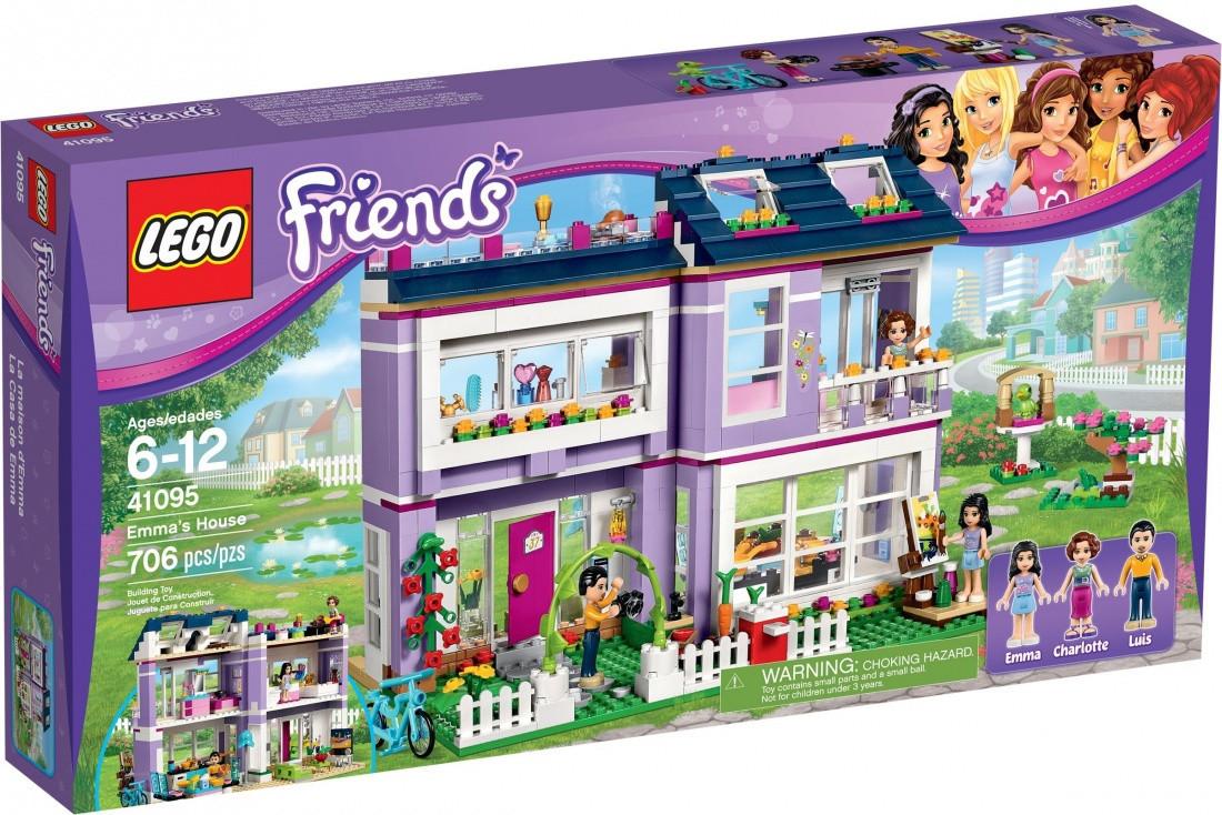 Lego Friends Дом Эммы
