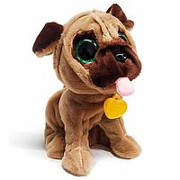 Интерактивная собака Мопс 12 команд, поет песню, разговаривает, фото 1