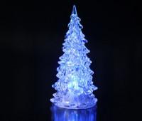 Новогодняя Статуэтка LED Елочка Мини Светильник Елка 11 см 10 шт. в Упаковке top