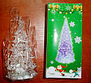 Новогодняя Статуэтка LED Елочка Мини Светильник Елка 11 см 10 шт. в Упаковке top, фото 7