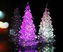 Новогодняя Статуэтка LED Елочка Мини Светильник Елка 11 см 10 шт. в Упаковке top, фото 8