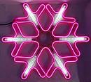 Гирлянда Снежинка Уличная Светодиодная LED Гирлянда Большая Снежинка 60х60 Цвета в Ассортименте top, фото 4