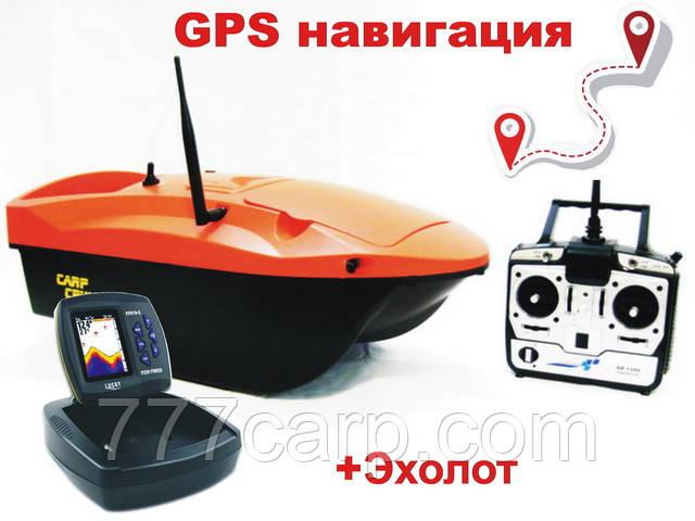 Кораблик для прикормки Carp Cruiser boat OF9-CWL-GPS Автопилот GPS навигация цветной эхолот Lucky FF918-CWL