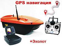 Кораблик для прикормки Carp Cruiser boat OF9-CWL-GPS Автопилот GPS навигация цветной эхолот Lucky FF918-CWL, фото 1