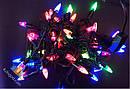 Гирлянда Бахрома Ракета 70 LED 2.5х0,5 м Новогодняя Цвет Мульти top, фото 2